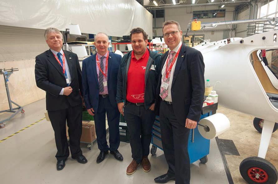 Australian Aerospace Alliance Visit Pipistrel in Slovenia