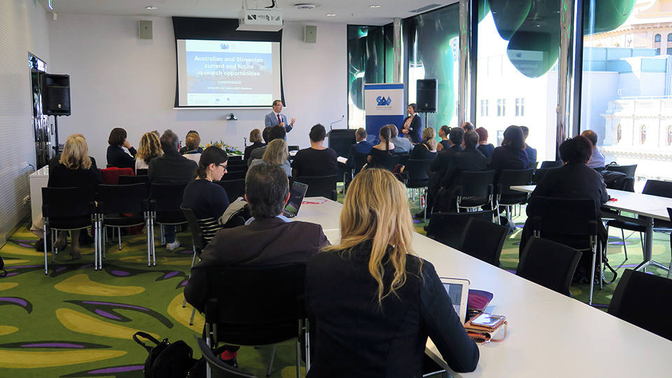 SACC AS CO-ORGANISER OF SLOVENIAN AUSTRALIAN ACADEMIC ASSOCIATION (SAAA) CONFERENCE, 22 MAY 2017, MELBOURNE